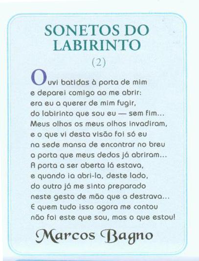 MARCOS BAGNO – Brasil – POESIA DOS BRASIS – MINAS GERAIS / DISTRITO ...