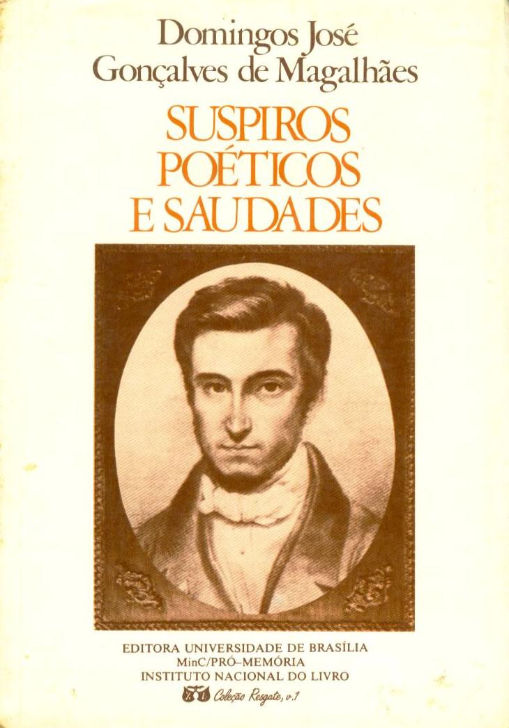 Domingos José Gonçalves De Magalhães Brasil Poesia Dos
